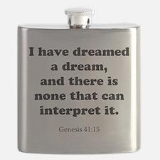 Genesis 41:15 Flask