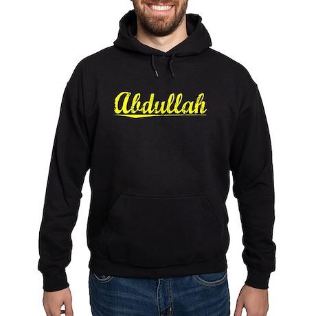 Abdullah, Yellow Hoodie (dark)