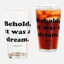 Genesis 41:7 Drinking Glass