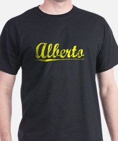 Alberto, Yellow T-Shirt