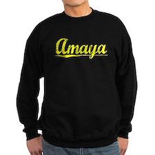 Amaya, Yellow Sweatshirt