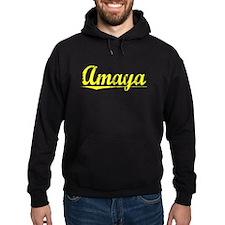 Amaya, Yellow Hoodie