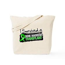 I Survived Bone Marrow Transplant Tote Bag