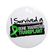 I Survived Bone Marrow Transplant Ornament (Round)