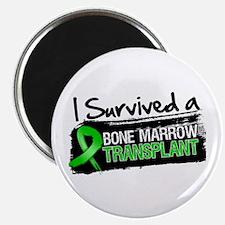 """I Survived Bone Marrow Transplant 2.25"""" Magnet (10"""