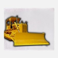 Bulldozer Throw Blanket