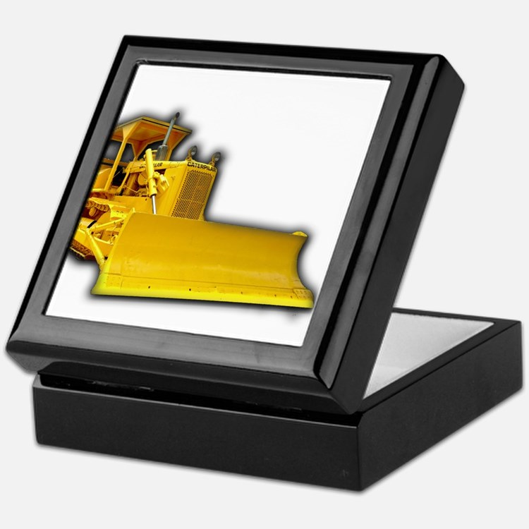Bulldozer Keepsake Box