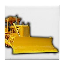 Bulldozer Tile Coaster