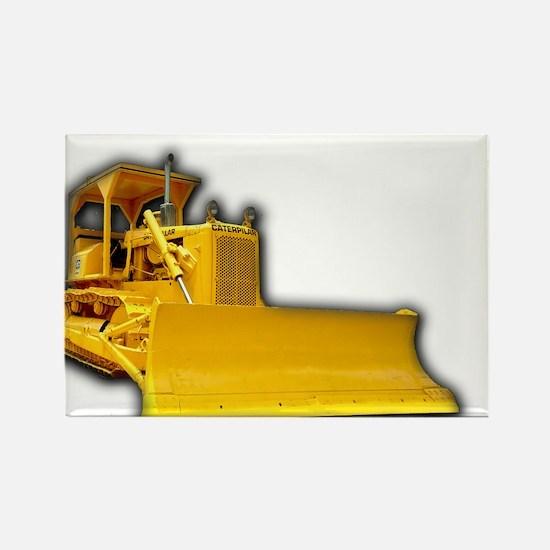 Bulldozer Rectangle Magnet