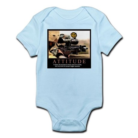 Sniper Attitude Infant Bodysuit