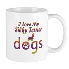 Silky Terrier designs Mug