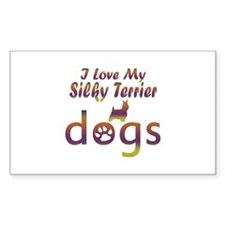 Silky Terrier designs Decal