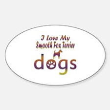 Smooth Fox Terrier designs Decal