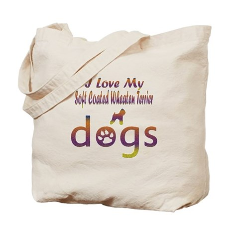 Soft Coated Wheaten Terrier designs Tote Bag