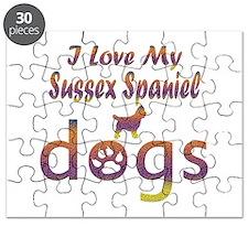 Sussex Spaniel designs Puzzle