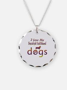 Swedish Vallhund designs Necklace