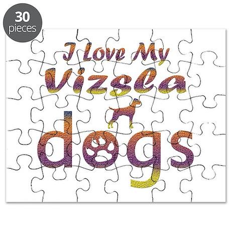 Vizsla designs Puzzle
