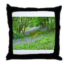 Bluebell Woods.jpg Throw Pillow
