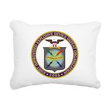 JIEDDO logo Rectangular Canvas Pillow