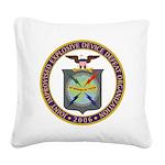 JIEDDO logo Square Canvas Pillow
