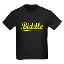 Biddle, Yellow T