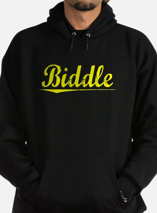 Biddle, Yellow Hoodie