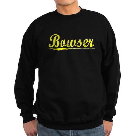 Bowser, Yellow Sweatshirt (dark)