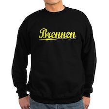 Brennen, Yellow Sweatshirt