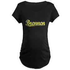 Brennen, Yellow T-Shirt