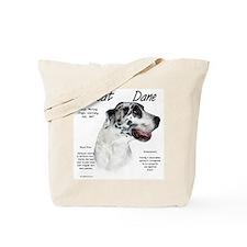 Harlequin Great Dane Tote Bag