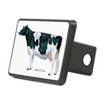 Holstein Cow Rectangular Hitch Cover