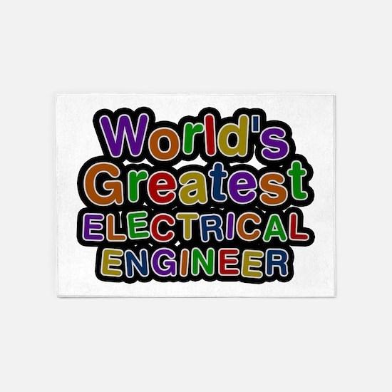 World's Greatest ELECTRICAL ENGINEER 5'x7' Area Ru