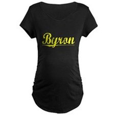 Byron, Yellow T-Shirt