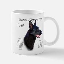 Black GSD Mug