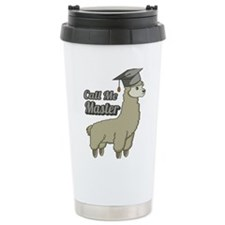 Fly Fishing Chick #2 Large Thermos Bottle