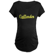 Callender, Yellow T-Shirt