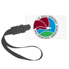 DEA seal Luggage Tag