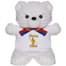 Flying Chick #2 Teddy Bear