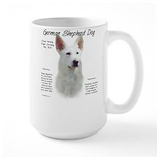 White GSD Mug
