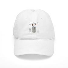 White GSD Baseball Cap