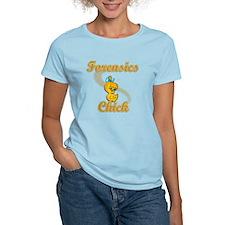 Forensics Chick #2 T-Shirt
