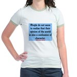 EMERSON - CHARACTOR QUOTE Jr. Ringer T-Shirt