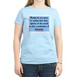 EMERSON - CHARACTOR QUOTE Women's Light T-Shirt