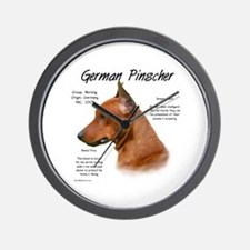 German Pinscher Wall Clock