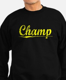 Champ, Yellow Sweatshirt