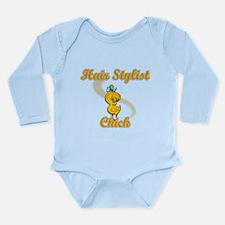 Hair Stylist Chick #2 Long Sleeve Infant Bodysuit