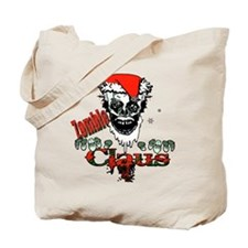 Zombie claus Tote Bag