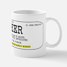 Beer Prescription Koozie Mug