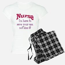 Nurse Here To Save Your Ass Pajamas