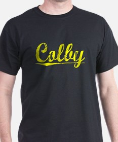 Colby, Yellow T-Shirt